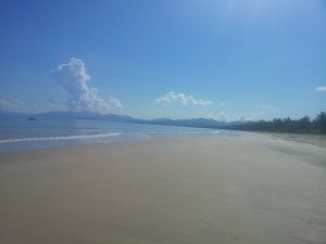 Longest white beach in the Philippines